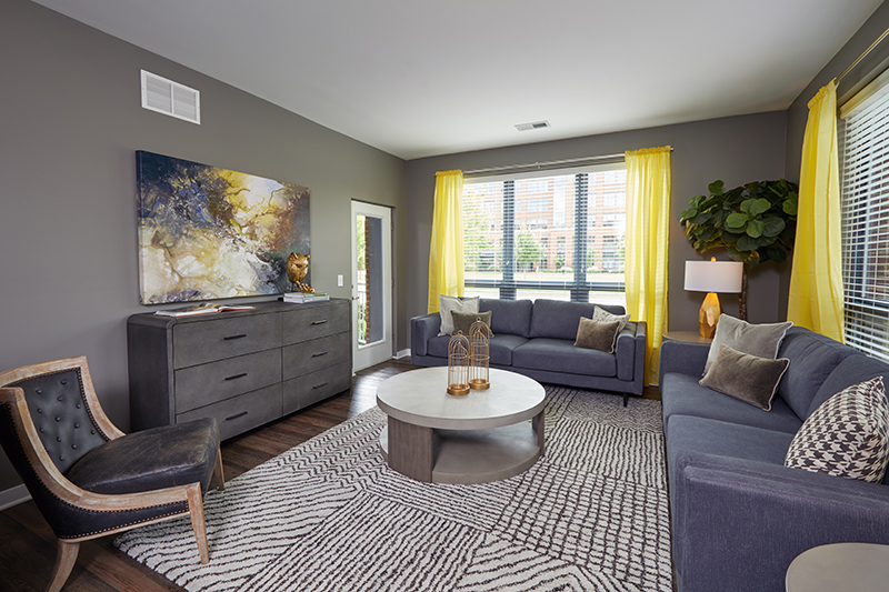 4 Downtown Columbus Apartment Models Get A Makeover