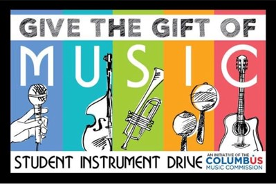 Give the gift of music. Student instrument drive.